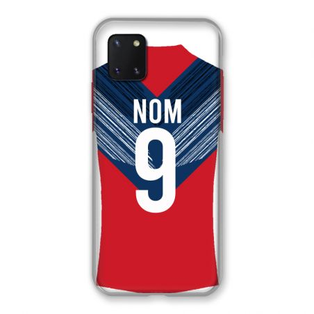 Coque Pour Samsung Galaxy Note 10 Lite Personnalisee Maillot Football LOSC Lille
