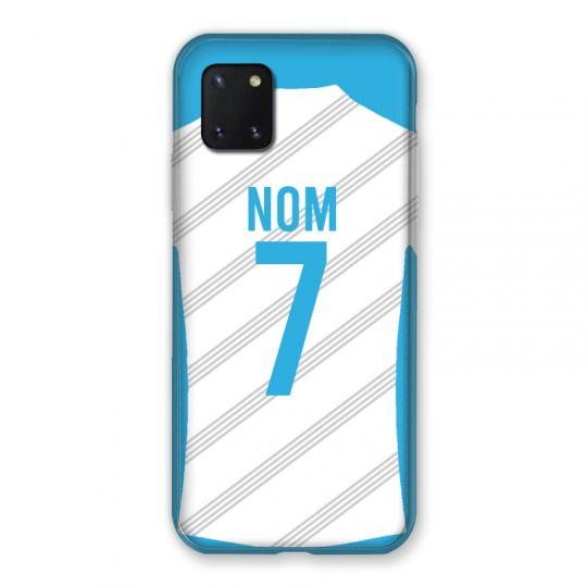 Coque Pour Samsung Galaxy Note 10 Lite Personnalisee Maillot Football Olympique Marseille Domicile