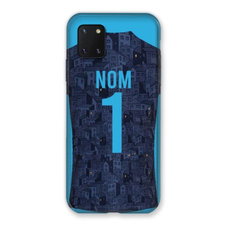 Coque Pour Samsung Galaxy Note 10 Lite Personnalisee Maillot Football Olympique Marseille Exterieur