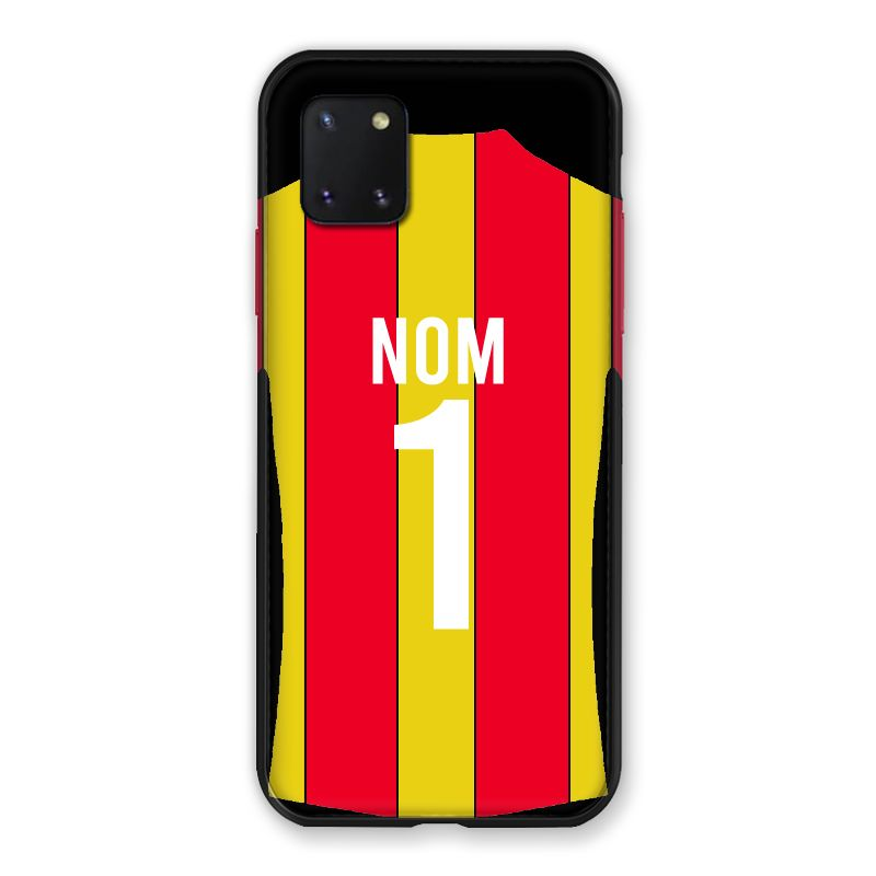 Coque Pour Samsung Galaxy Note 10 Lite Personnalisee Maillot Football RC Lens