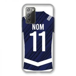 Coque Pour Samsung Galaxy Note 20 Personnalisee Maillot Footbal Girondins Bordeaux