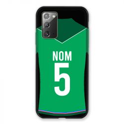 Coque Pour Samsung Galaxy Note 20 Personnalisee Maillot Football AS Saint Etienne
