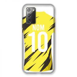 Coque Pour Samsung Galaxy Note 20 Personnalisee Maillot Football Borussia Dortmund