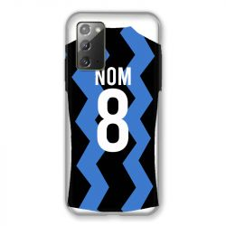 Coque Pour Samsung Galaxy Note 20 Personnalisee Maillot Football FC Inter Milan