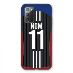 Coque Pour Samsung Galaxy Note 20 Personnalisee Maillot Football Olympique Lyonnais Exterieur