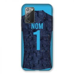Coque Pour Samsung Galaxy Note 20 Personnalisee Maillot Football Olympique Marseille Exterieur