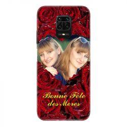 Coque Pour Xiaomi Redmi Note 9S / 9 Pro Personnalisee Fete Des Meres Roses Rouges