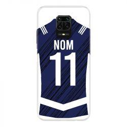 Coque Pour Xiaomi Redmi Note 9S / 9 Pro Personnalisee Maillot Footbal Girondins Bordeaux