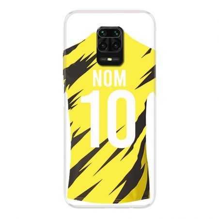Coque Pour Xiaomi Redmi Note 9S / 9 Pro Personnalisee Maillot Football Borussia Dortmund