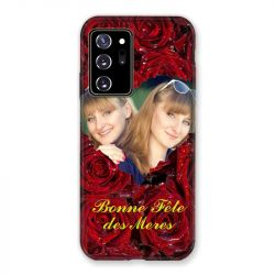 Coque Pour Samsung Galaxy Note 20 Ultra Personnalisee Fete Des Meres Roses Rouges