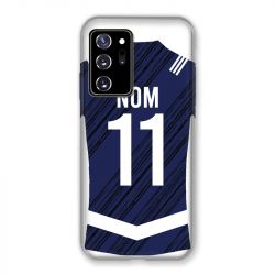 Coque Pour Samsung Galaxy Note 20 Ultra Personnalisee Maillot Footbal Girondins Bordeaux