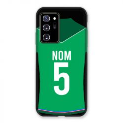 Coque Pour Samsung Galaxy Note 20 Ultra Personnalisee Maillot Football AS Saint Etienne