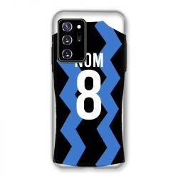 Coque Pour Samsung Galaxy Note 20 Ultra Personnalisee Maillot Football FC Inter Milan
