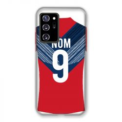 Coque Pour Samsung Galaxy Note 20 Ultra Personnalisee Maillot Football LOSC Lille