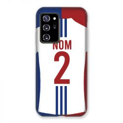 Coque Pour Samsung Galaxy Note 20 Ultra Personnalisee Maillot Football Olympique Lyonnais Domicile
