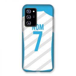 Coque Pour Samsung Galaxy Note 20 Ultra Personnalisee Maillot Football Olympique Marseille Domicile