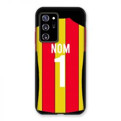Coque Pour Samsung Galaxy Note 20 Ultra Personnalisee Maillot Football RC Lens