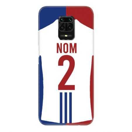 Coque Pour Xiaomi Redmi Note 9S / 9 Pro Personnalisee Maillot Football Olympique Lyonnais Domicile