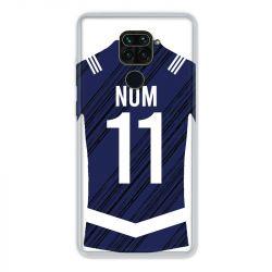 Coque Pour Xiaomi Redmi Note 9 Personnalisee Maillot Footbal Girondins Bordeaux
