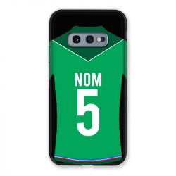 Coque Pour Samsung Galaxy S10e Personnalisee Maillot Football AS Saint Etienne