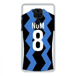 Coque Pour Xiaomi Redmi Note 9 Personnalisee Maillot Football FC Inter Milan