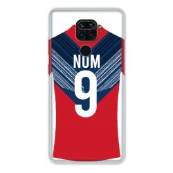 Coque Pour Xiaomi Redmi Note 9 Personnalisee Maillot Football LOSC Lille