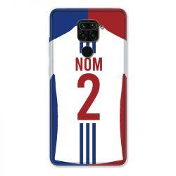 Coque Pour Xiaomi Redmi Note 9 Personnalisee Maillot Football Olympique Lyonnais Domicile