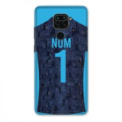 Coque Pour Xiaomi Redmi Note 9 Personnalisee Maillot Football Olympique Marseille Exterieur