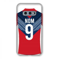 Coque Pour Samsung Galaxy S10e Personnalisee Maillot Football LOSC Lille