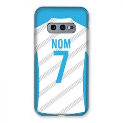 Coque Pour Samsung Galaxy S10e Personnalisee Maillot Football Olympique Marseille Domicile