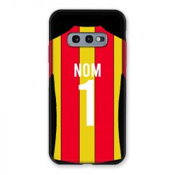Coque Pour Samsung Galaxy S10e Personnalisee Maillot Football RC Lens