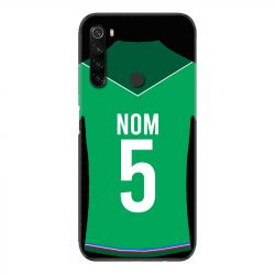 Coque Pour Xiaomi Redmi Note 8T Personnalisee Maillot Football AS Saint Etienne