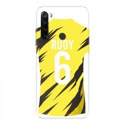 Coque Pour Xiaomi Redmi Note 8T Personnalisee Maillot Football Borussia Dortmund