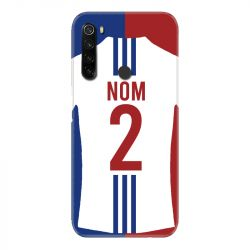 Coque Pour Xiaomi Redmi Note 8T Personnalisee Maillot Football Olympique Lyonnais Domicile