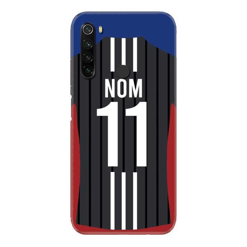 Coque Pour Xiaomi Redmi Note 8T Personnalisee Maillot Football Olympique Lyonnais Exterieur