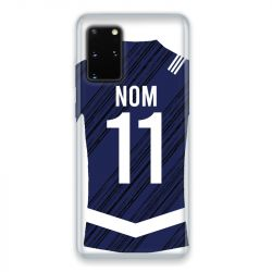 Coque Pour Samsung Galaxy S20 Personnalisee Maillot Footbal Girondins Bordeaux