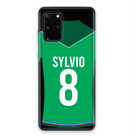 Coque Pour Samsung Galaxy S20 Personnalisee Maillot Football AS Saint Etienne