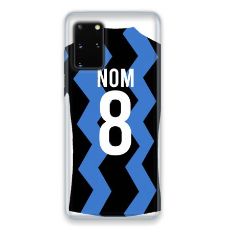 Coque Pour Samsung Galaxy S20 Personnalisee Maillot Football FC Inter Milan