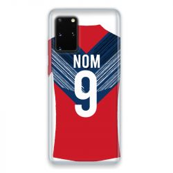 Coque Pour Samsung Galaxy S20 Personnalisee Maillot Football LOSC Lille