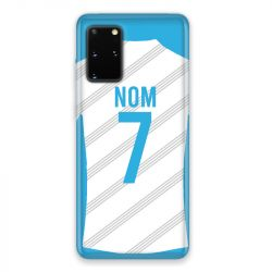 Coque Pour Samsung Galaxy S20 Personnalisee Maillot Football Olympique Marseille Domicile