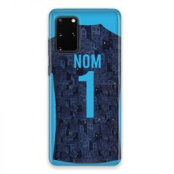 Coque Pour Samsung Galaxy S20 Personnalisee Maillot Football Olympique Marseille Exterieur