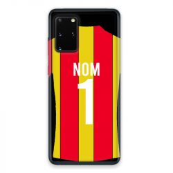 Coque Pour Samsung Galaxy S20 Personnalisee Maillot Football RC Lens