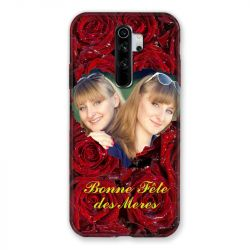 Coque Pour Xiaomi Redmi Note 8 Pro Personnalisee Fete Des Meres Roses Rouges