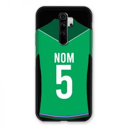 Coque Pour Xiaomi Redmi Note 8 Pro Personnalisee Maillot Football AS Saint Etienne