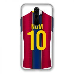 Coque Pour Xiaomi Redmi Note 8 Pro Personnalisee Maillot Football FC Barcelone