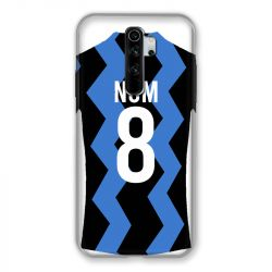 Coque Pour Xiaomi Redmi Note 8 Pro Personnalisee Maillot Football FC Inter Milan