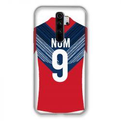 Coque Pour Xiaomi Redmi Note 8 Pro Personnalisee Maillot Football LOSC Lille