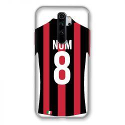 Coque Pour Xiaomi Redmi Note 8 Pro Personnalisee Maillot Football Milan AC