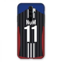 Coque Pour Xiaomi Redmi Note 8 Pro Personnalisee Maillot Football Olympique Lyonnais Exterieur