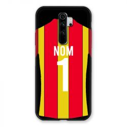 Coque Pour Xiaomi Redmi Note 8 Pro Personnalisee Maillot Football RC Lens